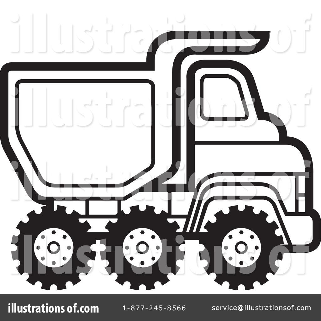 Dump Truck Clipart #1104733.