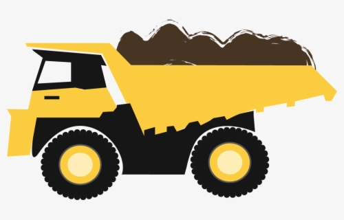 Free Construction Truck Clip Art with No Background.