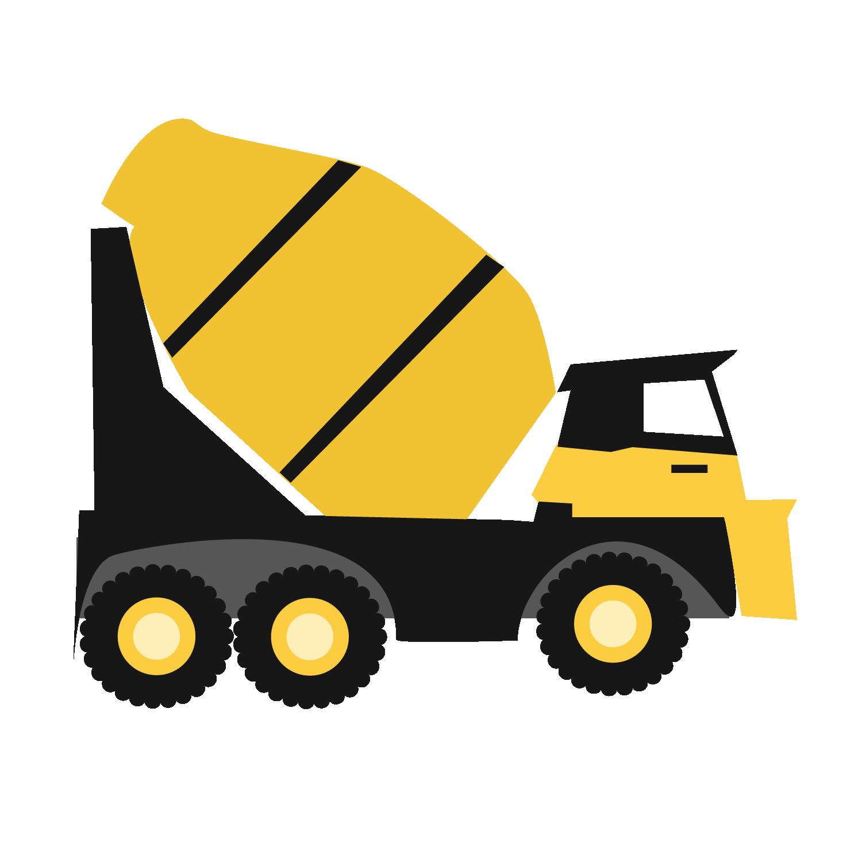 Construction Trucks SVG files.