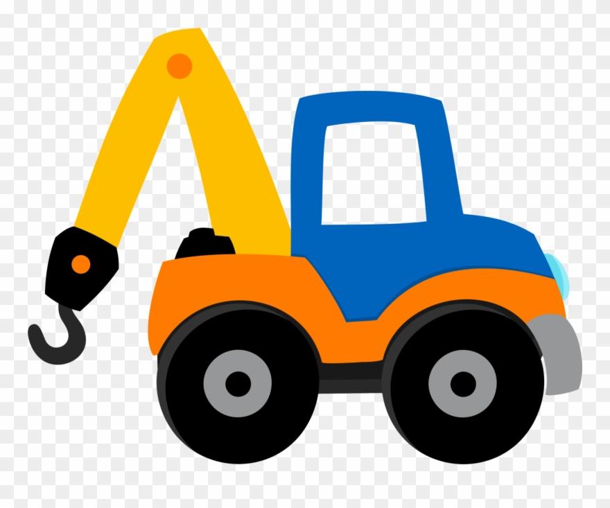 Clip Art, Construction, Transportation, Building, Illustrations.