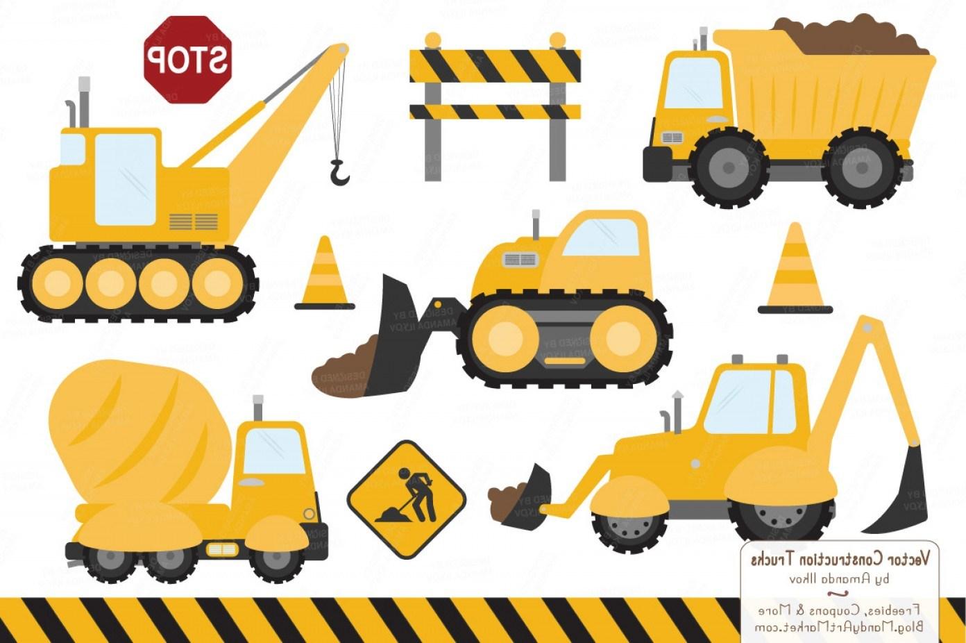 Construction trucks clipart 7 » Clipart Portal.