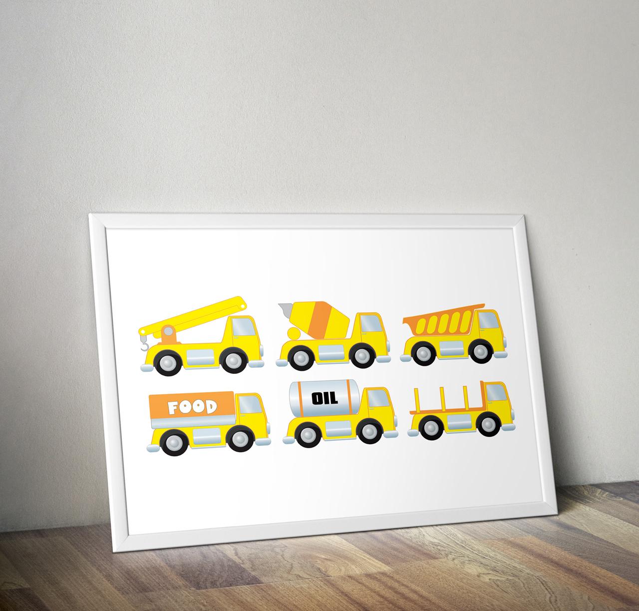 Construction clipart, construction truck, dump truck clip art, truck  clipart, cars clipart, printable, construction digital.