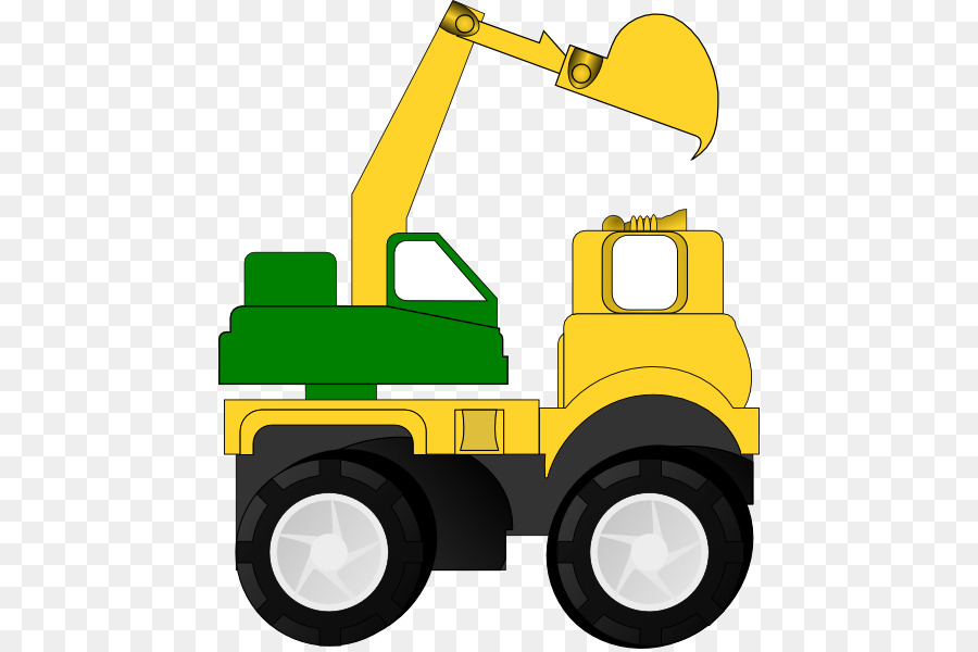 Car Construction Equipment png download.