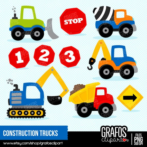 CONSTRUCTION TRUCKS.