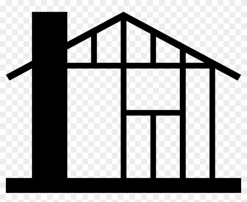 Vector Illustration Of House Under Construction Symbol.