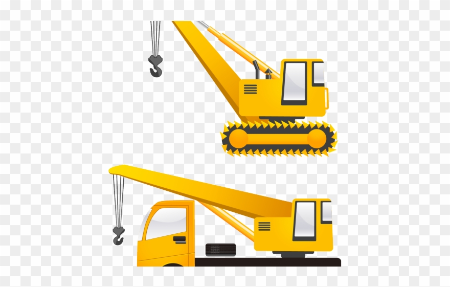 Crane Clipart Heavy Vehicle.
