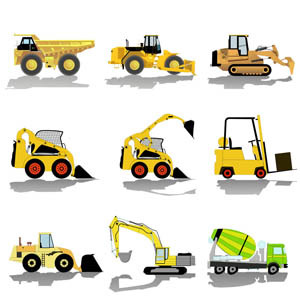 Construction Vehicle Clipart.
