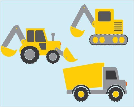 Construction Vehicles.