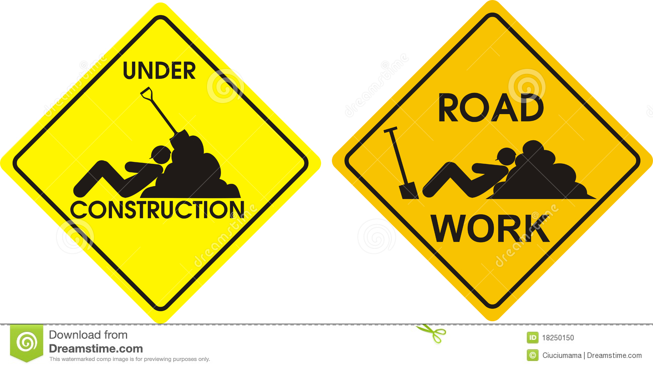 Road Work Clipart.