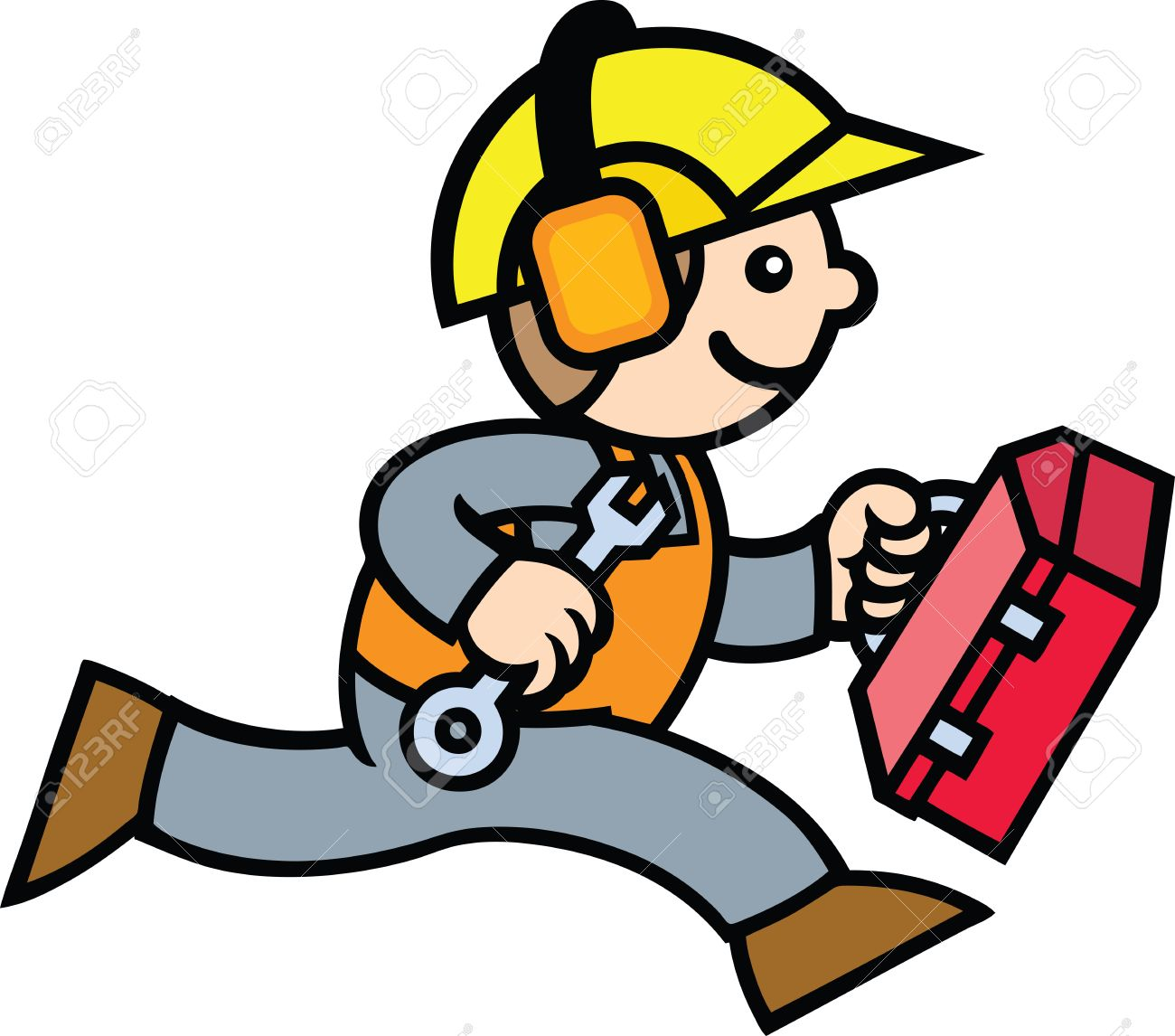 Construction Guy Royalty Free Cliparts, Vectors, And Stock.