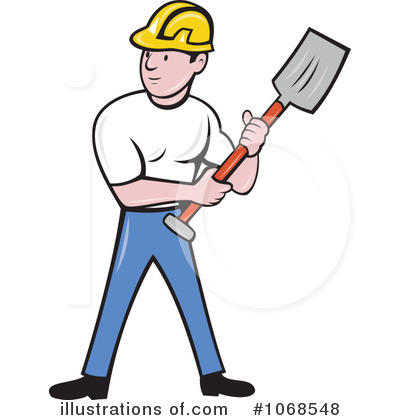 Construction Worker Clipart #1068548.