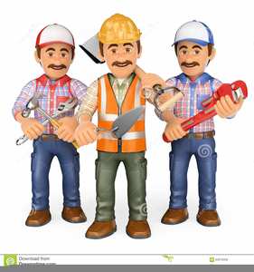 Free Construction Worker Clipart.