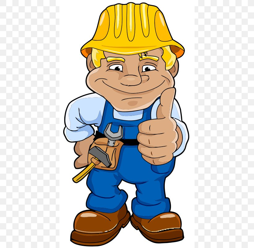 Construction Worker Laborer Architectural Engineering Clip.