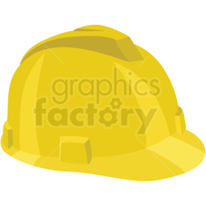 construction hard hat vector flat icon clipart with no background .  Royalty.