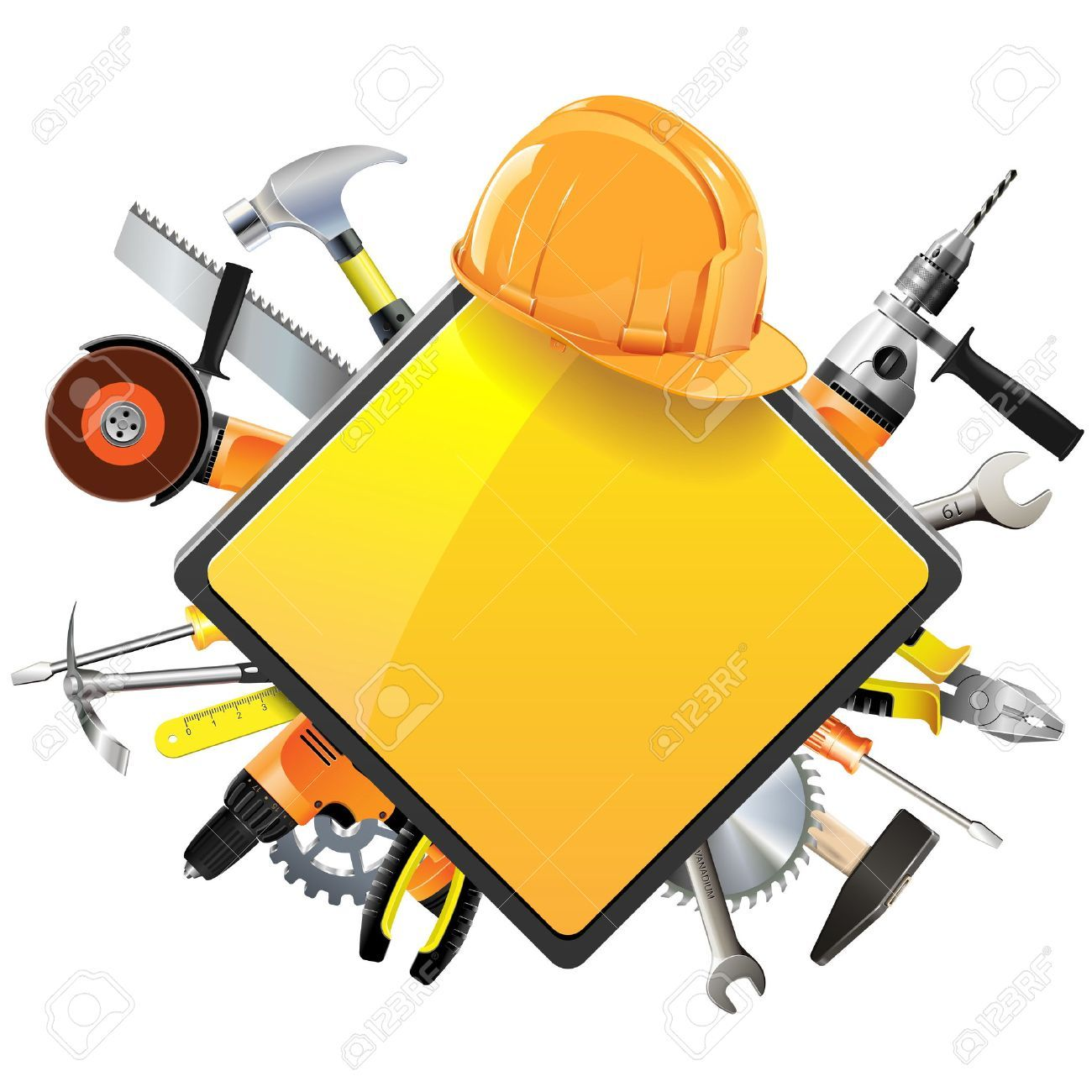Construction worker tools clipart 2 » Clipart Portal.