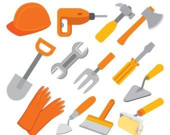 Construction worker tools clipart » Clipart Portal.