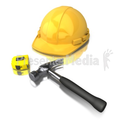 Construction Worker Tools.