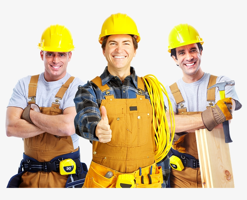 Construction Workers Png.