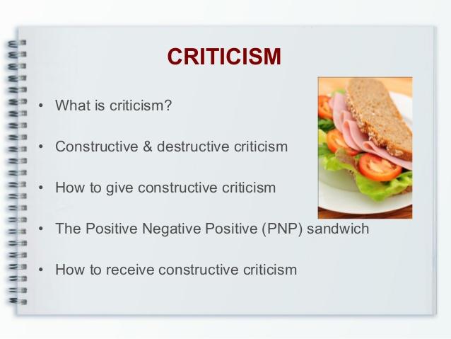 Criticism Clipart.