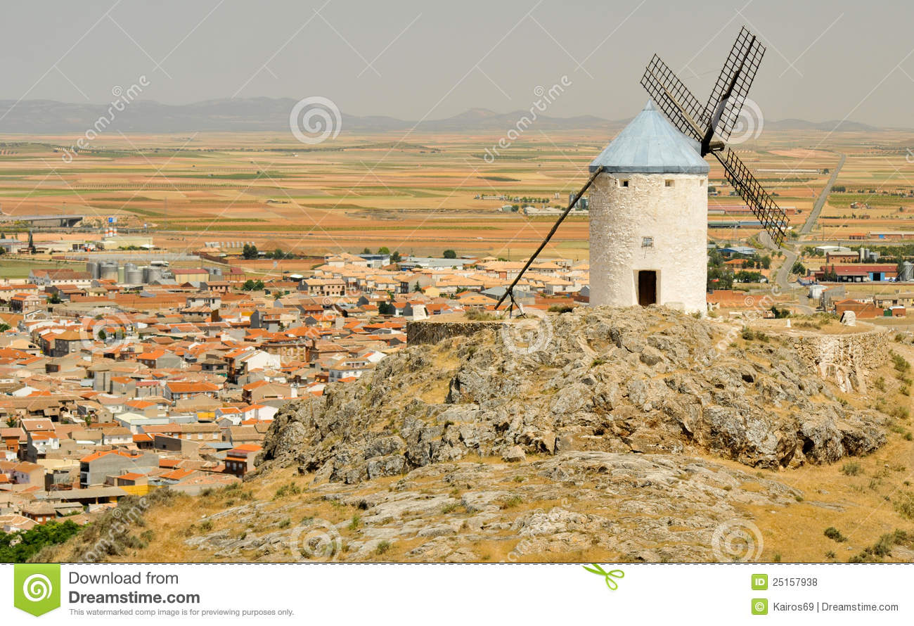 Windmill Of Consuegra, Castilla.