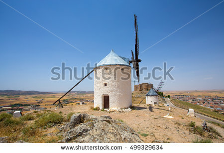 Castile La Mancha Stock Photos, Royalty.