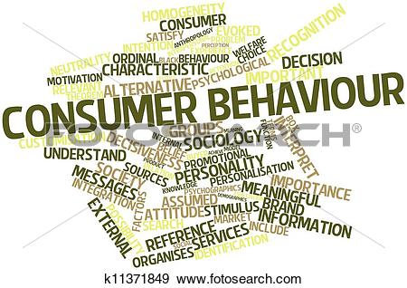 Stock Illustration of Consumer behaviour k11371849.