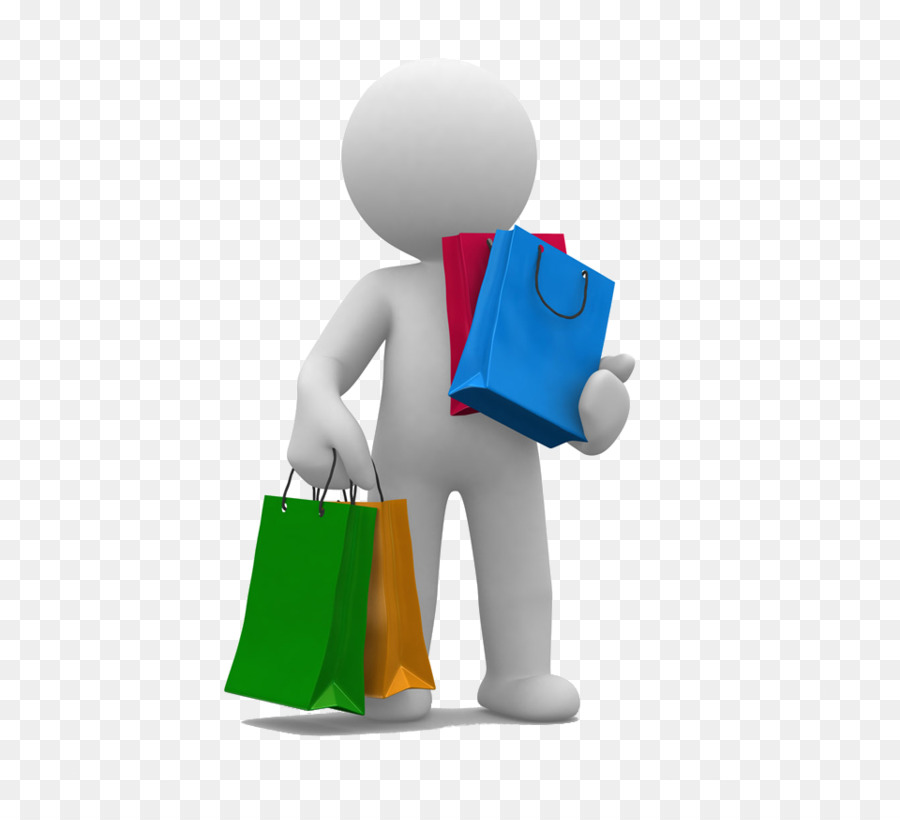 Shopping Cartoon png download.