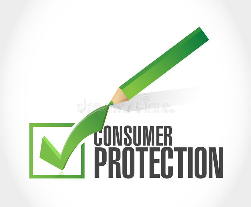 Consumer Protection Stock Illustrations.