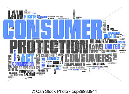 Word Cloud Consumer Protection.