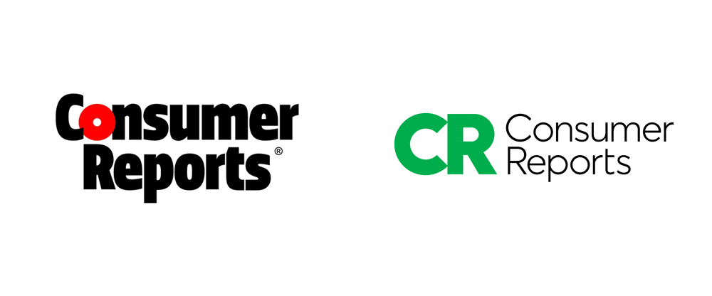 Brand New: New Logo for Consumer Reports by Pentagram.