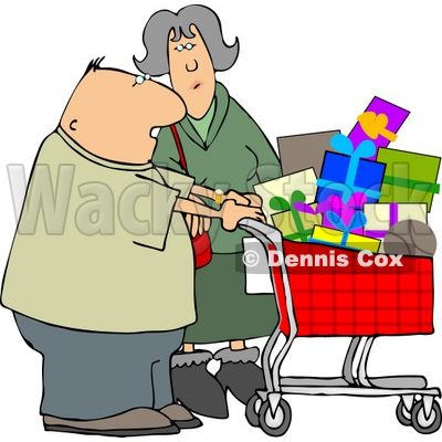 Consumers Clipart by Dennis Cox.
