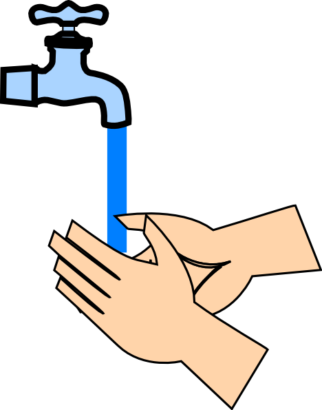 Water consumption clipart.
