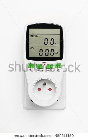 Electric Meter Water Meter Stock Vector 103440815.