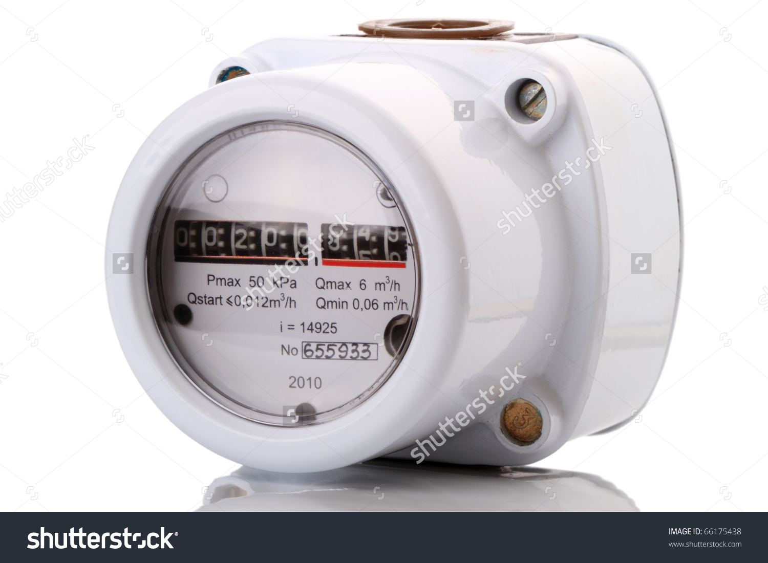 Indoor Gas Meter Used For Measuring Natural Gas Consumption In.