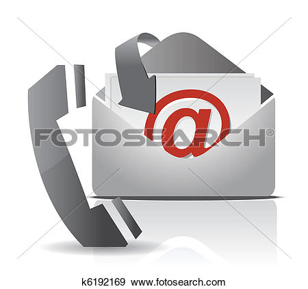 Stock Illustration of contact k8717296.