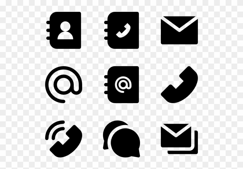 Contact Icons Png.