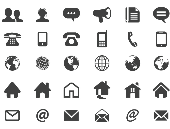 Contact Icon Vector Png #178427.