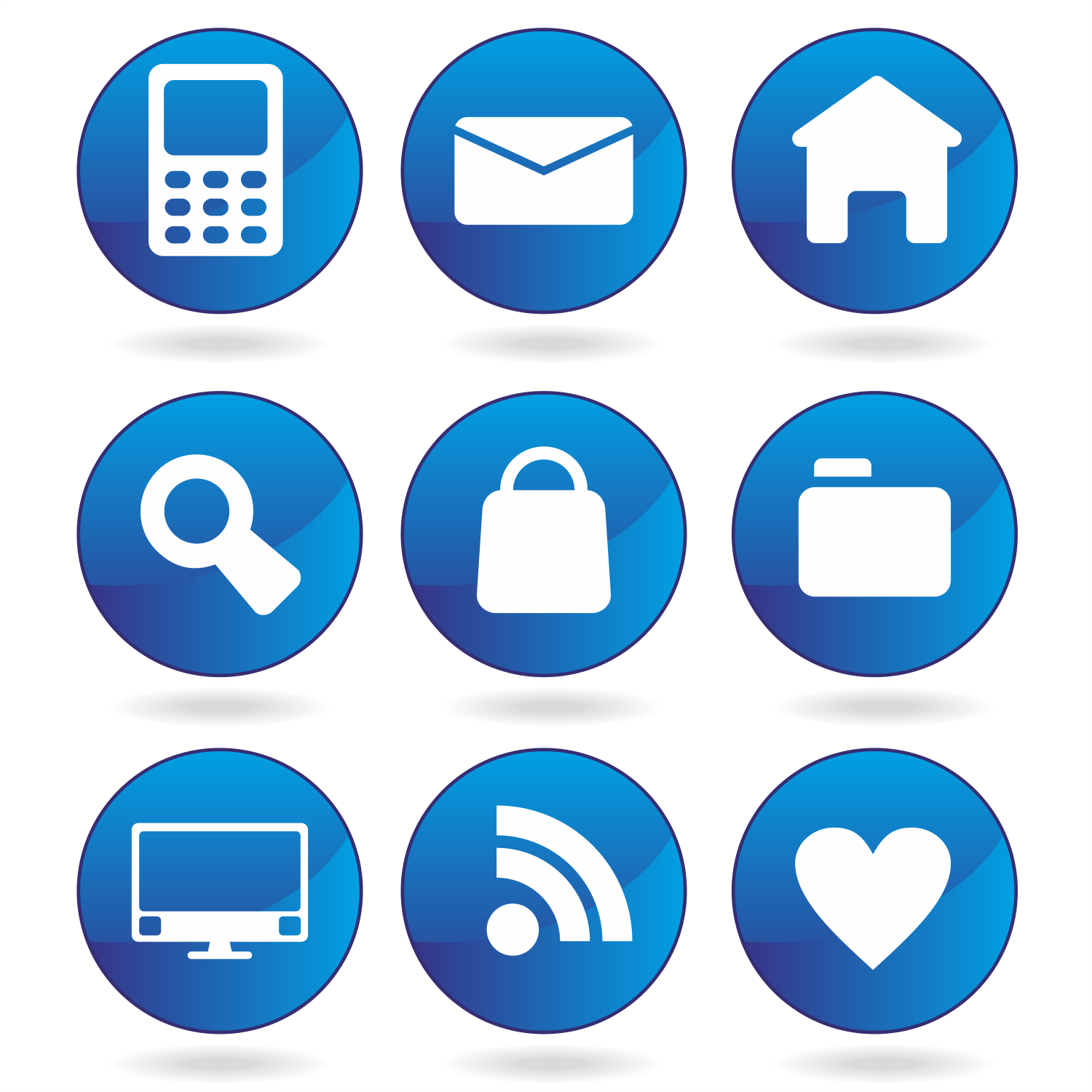Contact Icon Vector Png #178408.