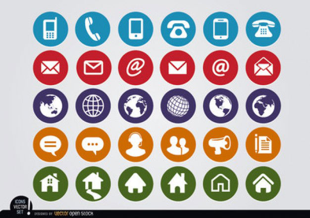 10 Quality Free Flat Icon Sets for Your Designs — SitePoint.