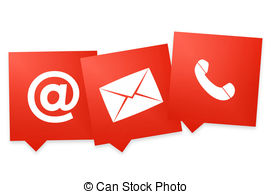Contact info clipart » Clipart Station.
