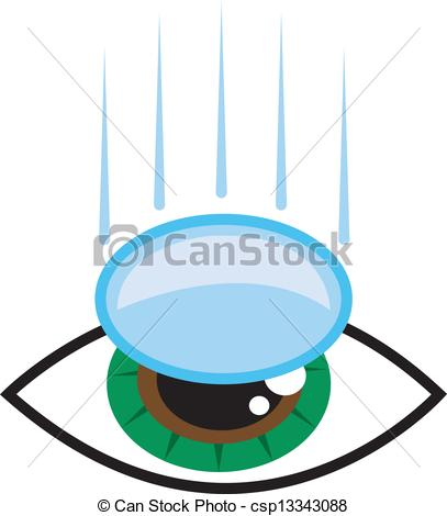 Contact lens Stock Illustration Images. 1,314 Contact lens.
