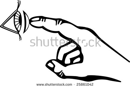 Contact Lenses Stock Vector 2194683.
