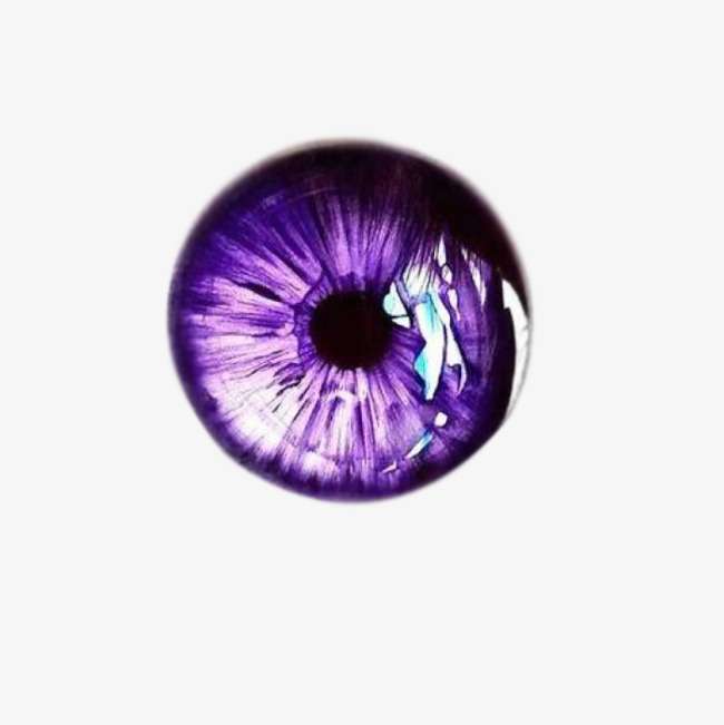 Contact Lenses, Glasses, Purple Contact Lenses, Vector PNG.