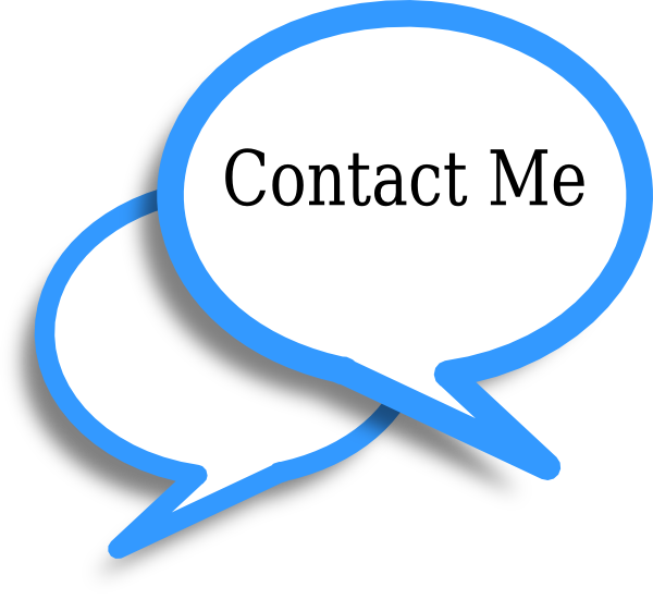Contact me clipart.