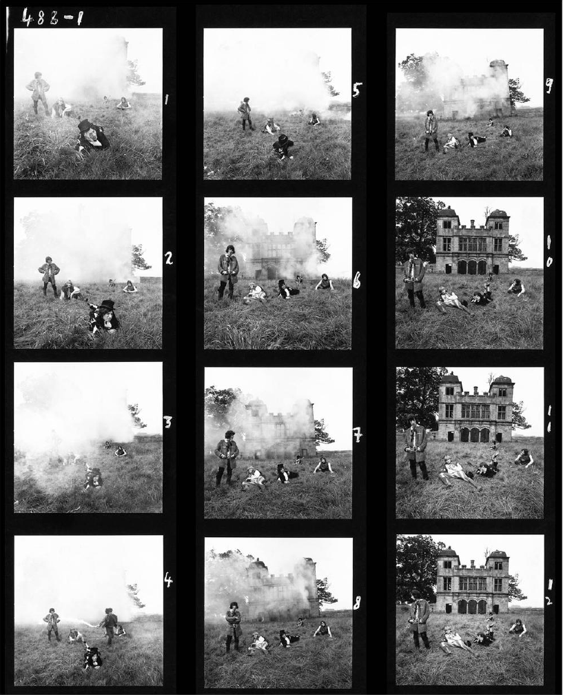 Michael Joseph: Swarkestone Contact Sheet.