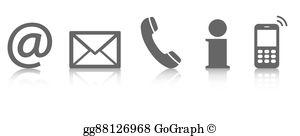 Contact Clip Art.