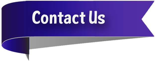 Contact Us Banner Png Vector, Clipart, PSD.
