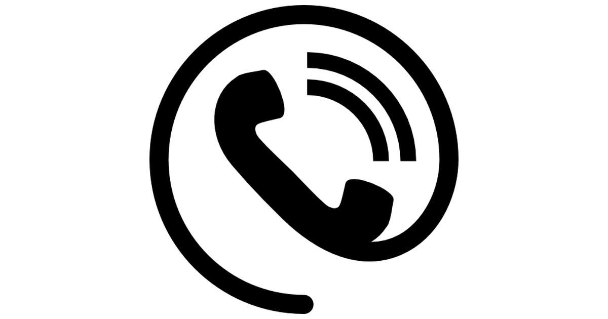 Phone contact.