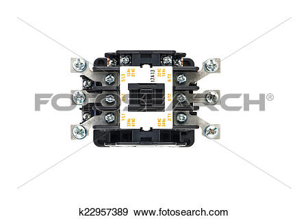 Stock Photograph of Contactors k22957389.