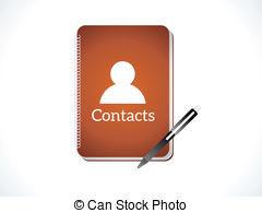 Contacts Clip Art.